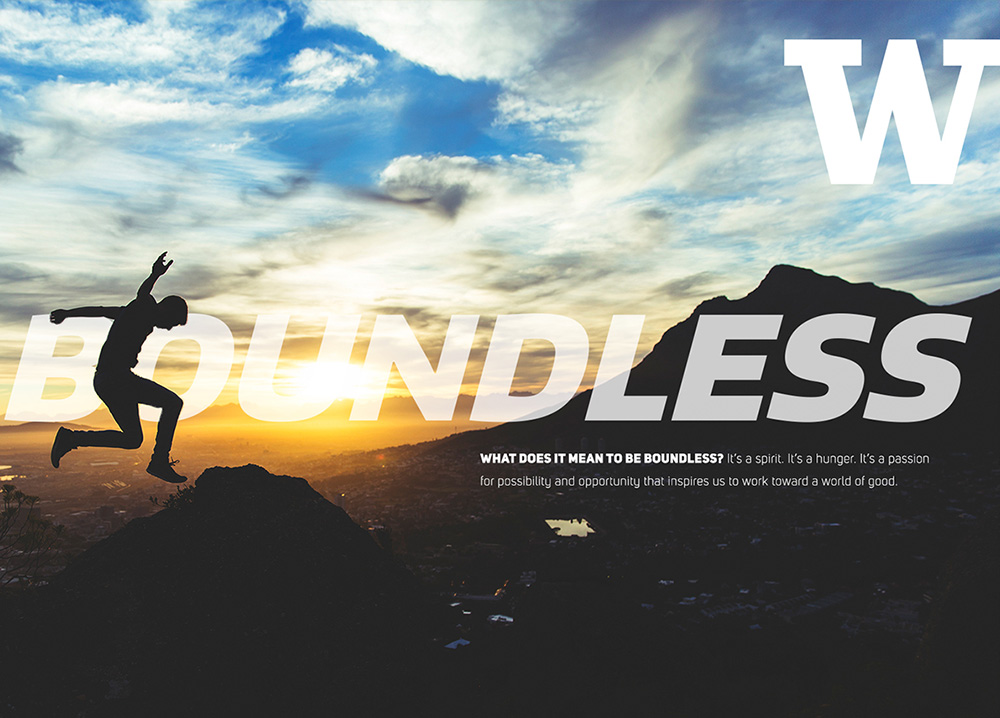 University of Washington be boundless campaign thumbnail