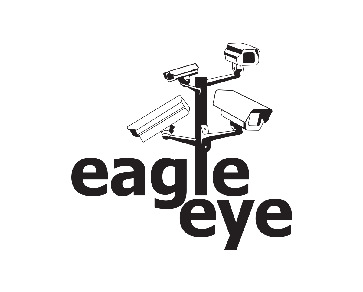 eagle eye security firm logo design