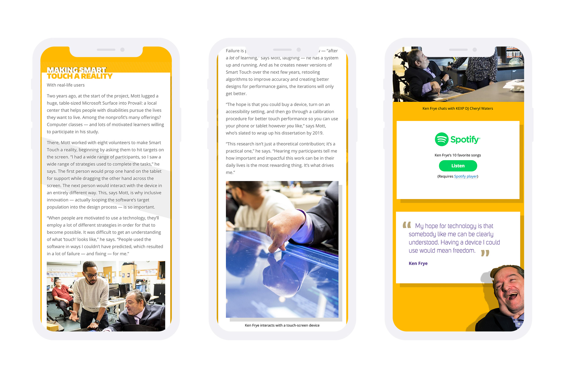 university of washington ischool website mobile mockup example 2