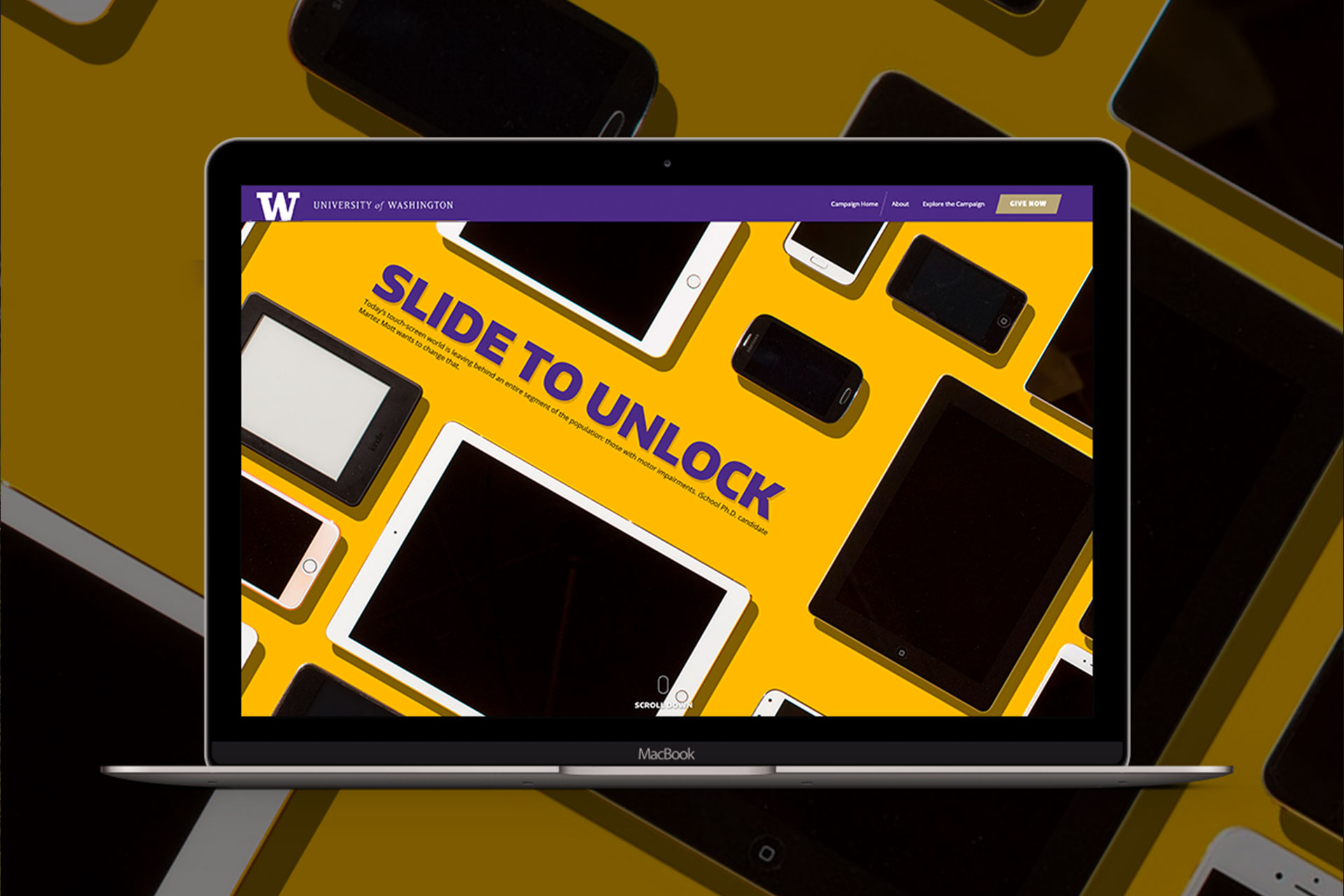 university of washington ischool website design
