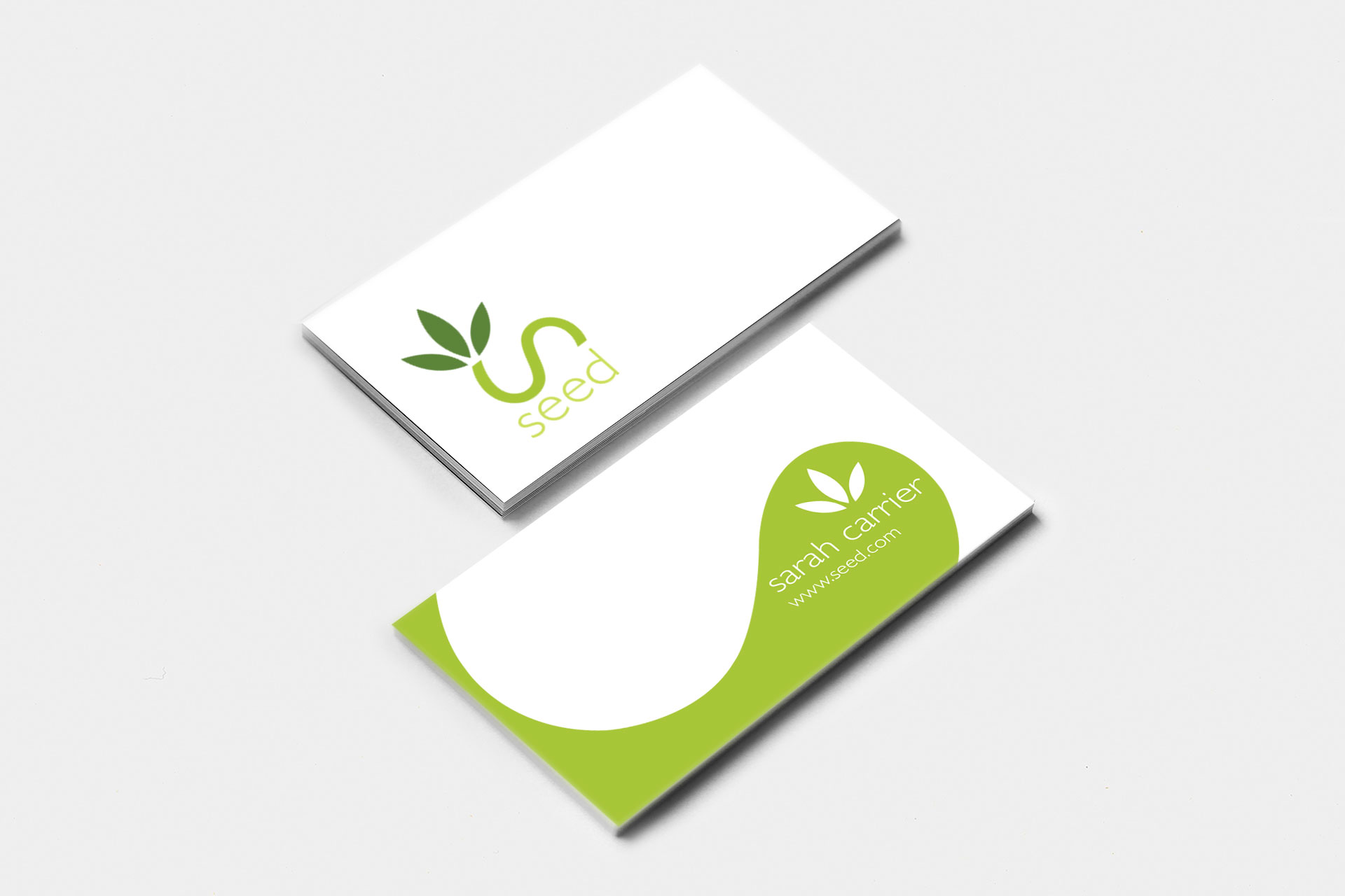 Nick bolton design seed seed business card design colourmoves